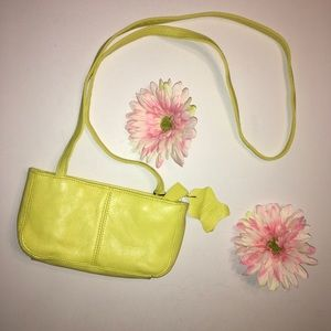 Other - Yellow leather crossbody